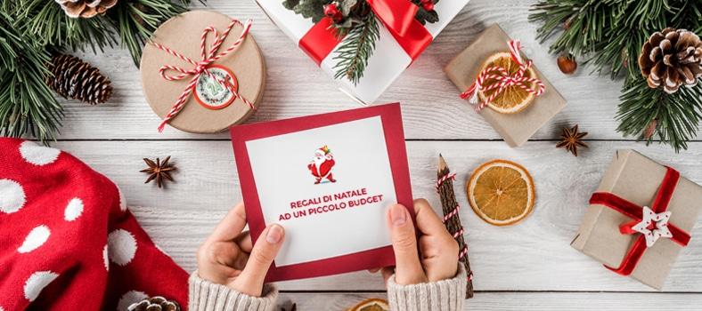Consigli per i regali di Natale con un piccolo budget