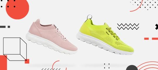 Nuove sneakers Geox Spherica