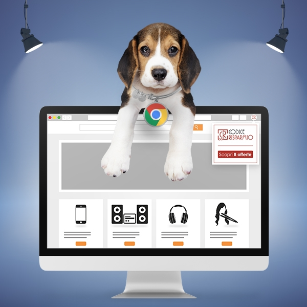 Disponibile l'estensione Chrome di CodiceRisparmio!